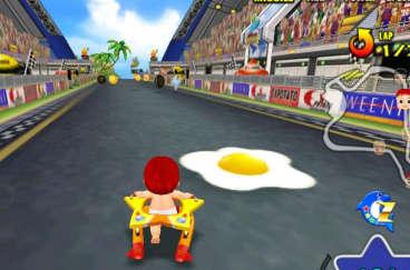 赤ちゃんレーシング カモンベイビー